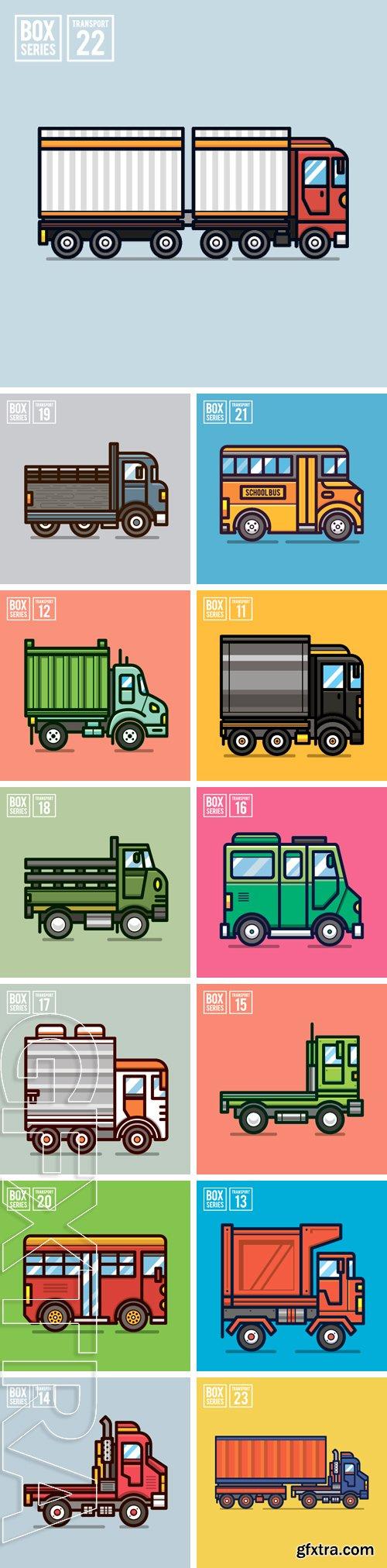 Stock Vectors - Transport illustration for website, publication, info graphic, etc