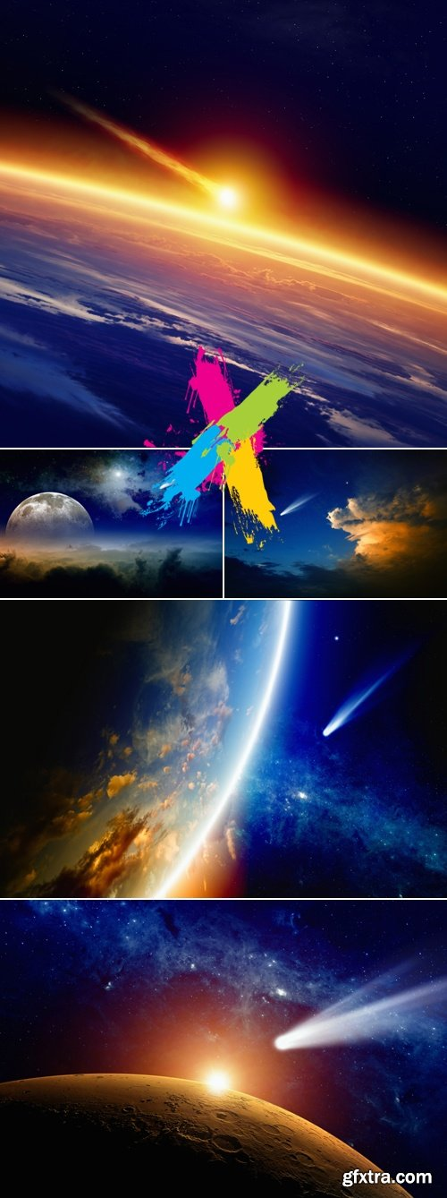 Stock Photo - Earth & Space