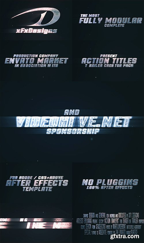 Videohive Action Titles Trailer Creator 12006829