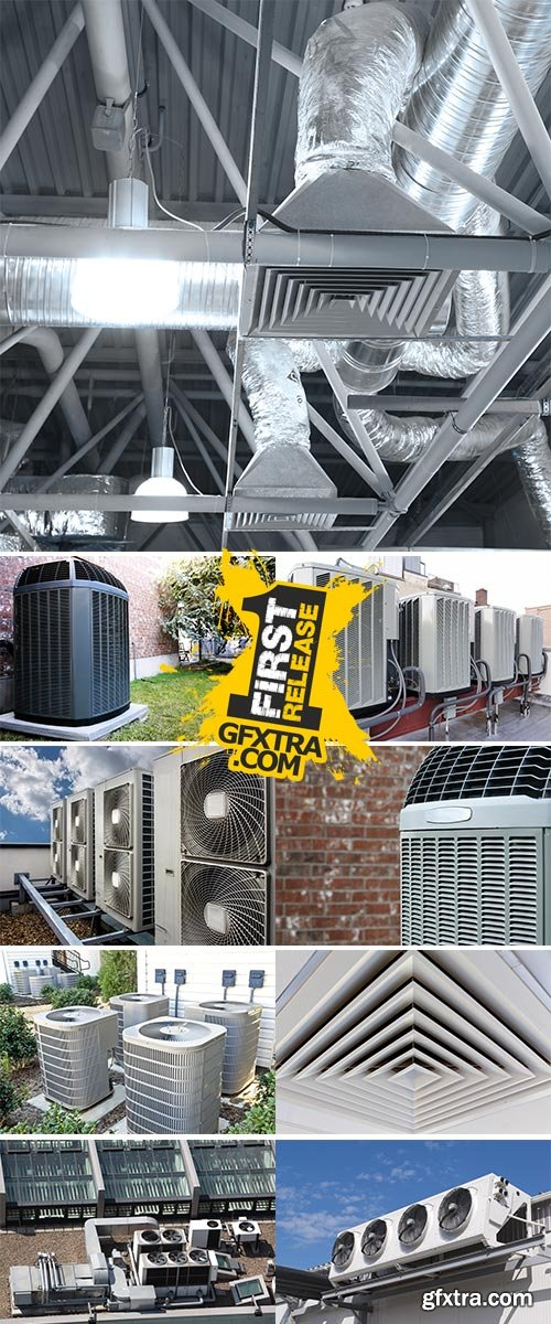 Stock Images Air conditioning
