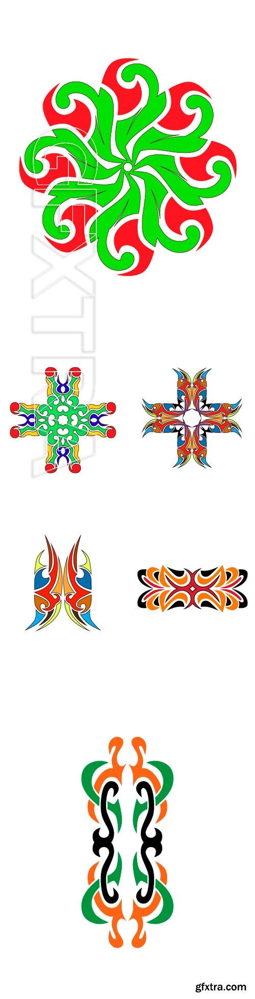 Stock Vectors - Pattern. Design. Tattoo. Ornament