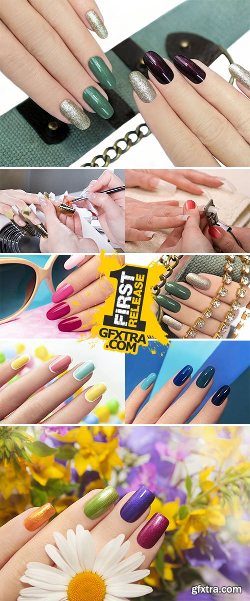Stock Image Nail extension