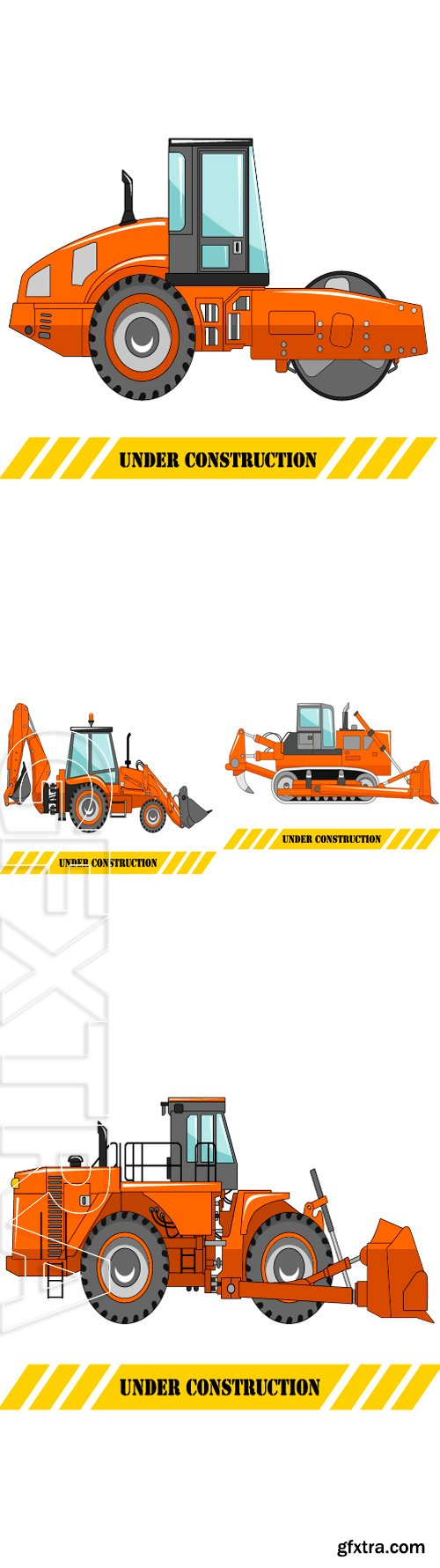 Stock Vectors - Detailed illustration and machinery