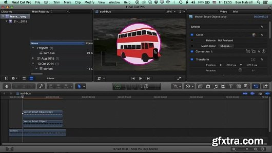 Final Cut Pro X: Layers & Animation using Video & Photoshop Files