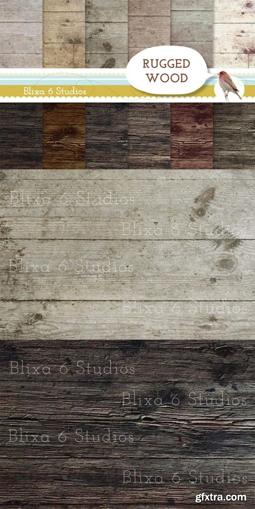 Rugged Wood Textures - CM 16499