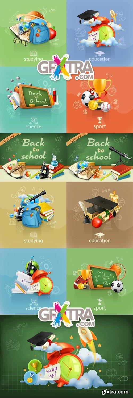 Back to School 2015 Vector