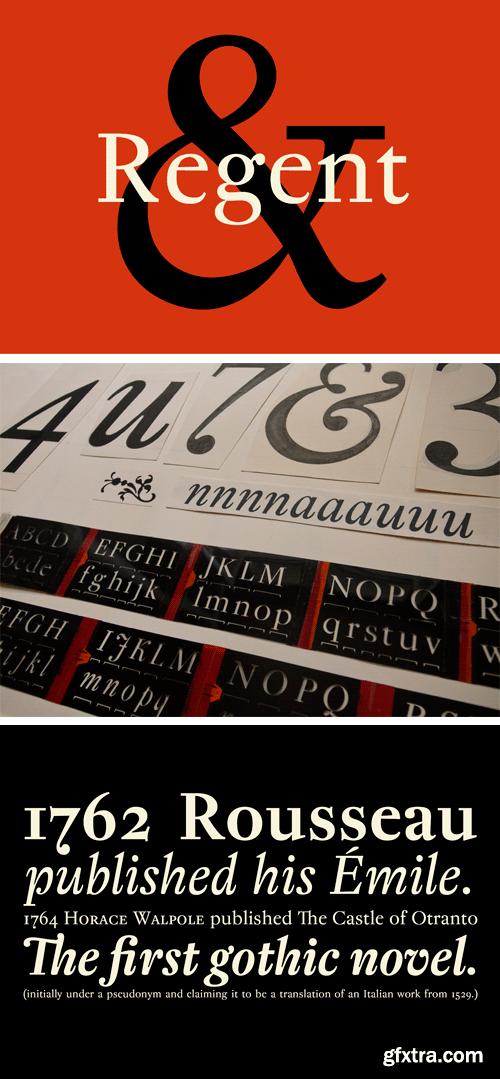 Regent Pro Font Family