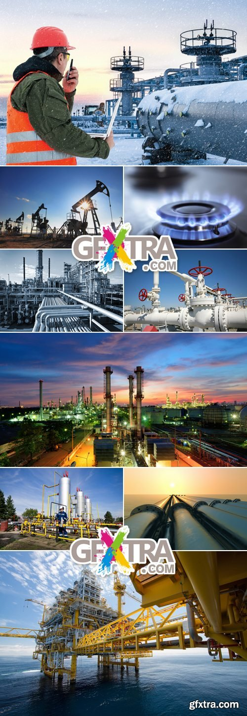 Stock Photo - Gas & Oil Industry