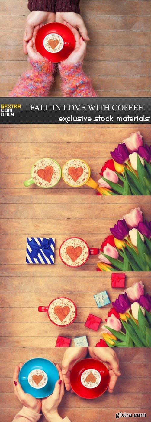 Fall in Love With Coffee - 5 UHQ JPEG