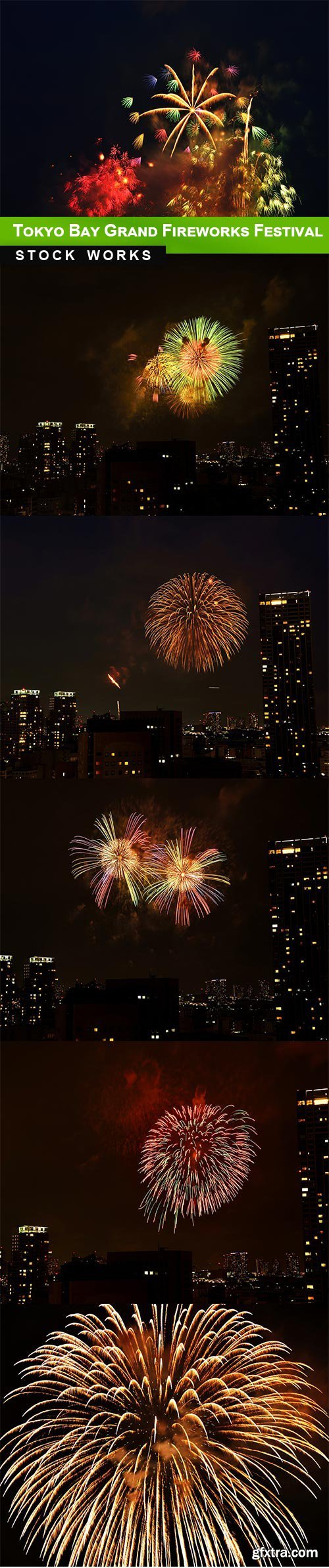 Tokyo Bay Grand Fireworks Festival - 6 UHQ JPEG