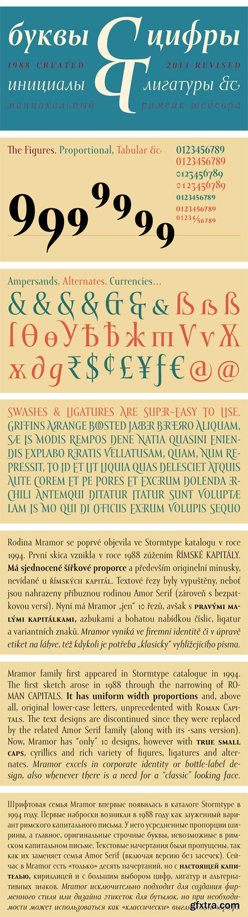 Mramor Pro Font Family