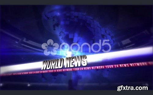 pond5 - Broadcast News 24 Complete Package