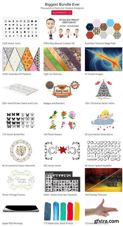 10000+ Web Design Resources: BundleStorm V2
