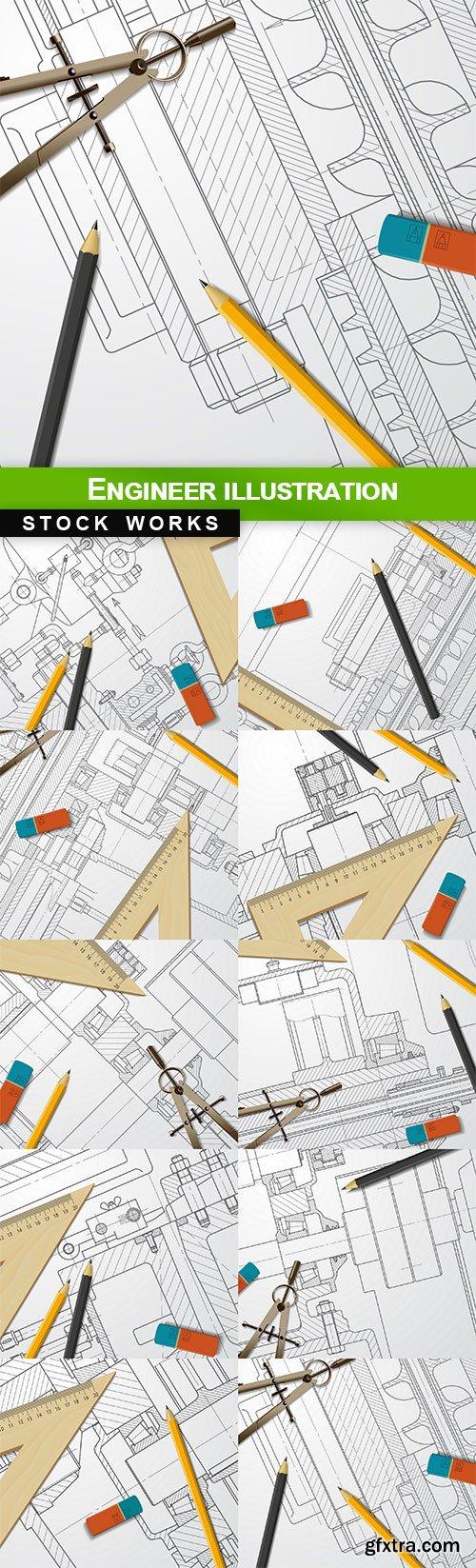Engineer illustration - 10 EPS