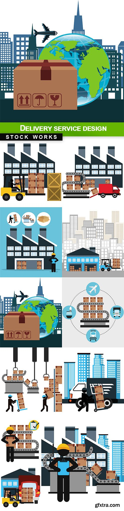 Delivery service design - 11 EPS