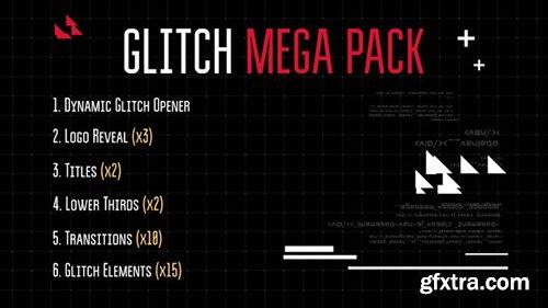 Videohive Glitch Mega Pack 11973941