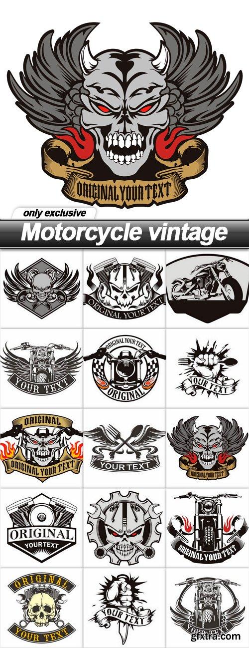 Motorcycle vintage - 15 UHQ JPEG