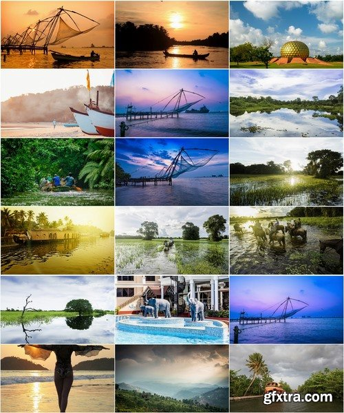 Collection tourism landscape nature sunset sea travel forest thickets India 25 HQ Jpeg