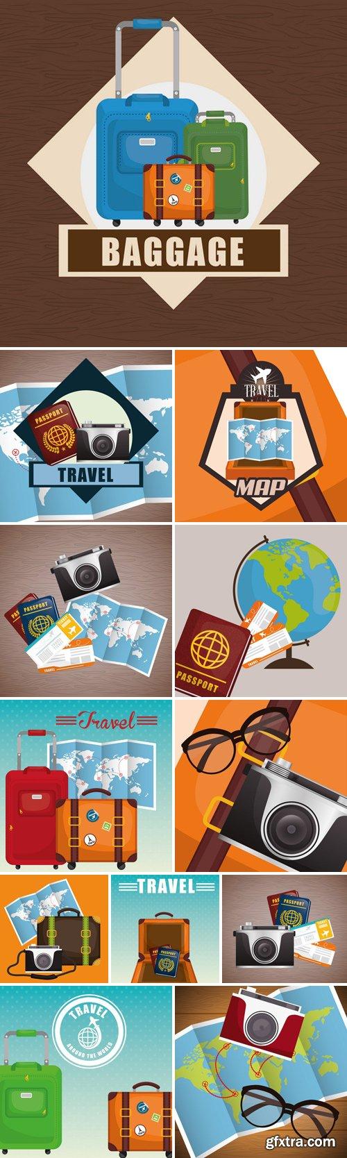 Stock Vectors - Travel Concept 7