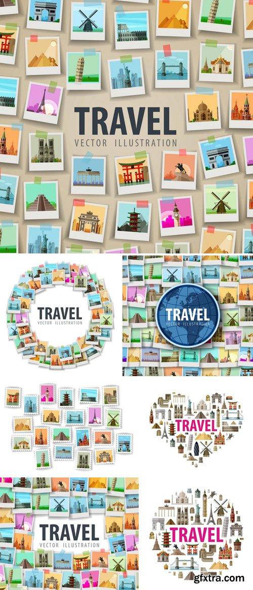 Stock Vectors - Travel Vector Logo Design Template