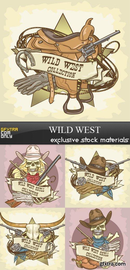 Wild West - 5xEPS