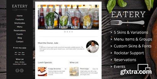 Nuvo V   Cafe Restaurant WordPress Theme