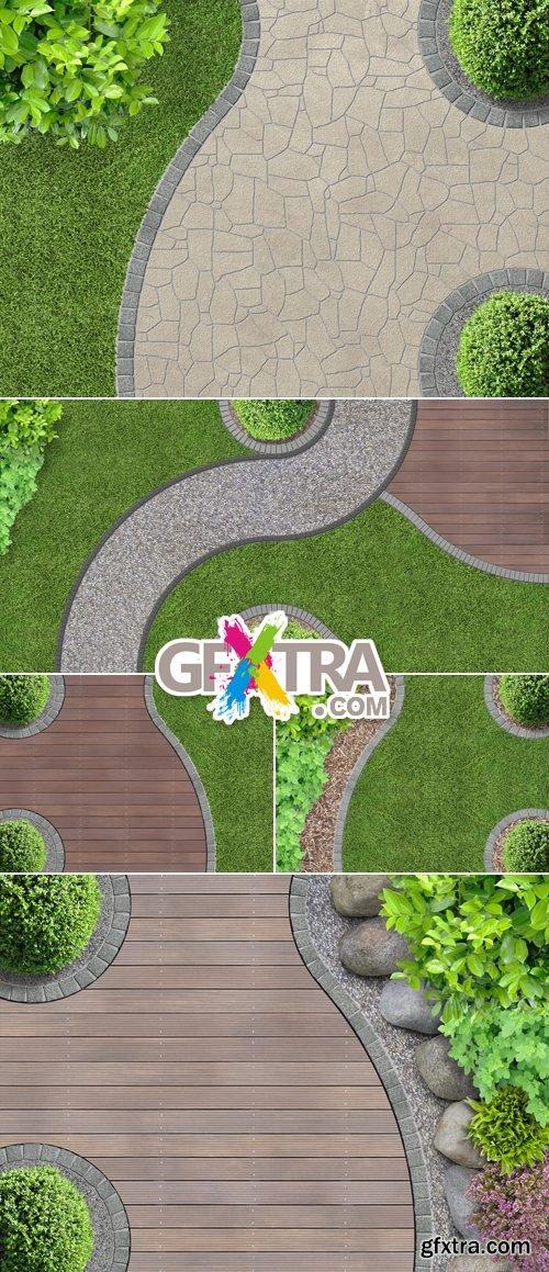 Stock Photo - Garden Design