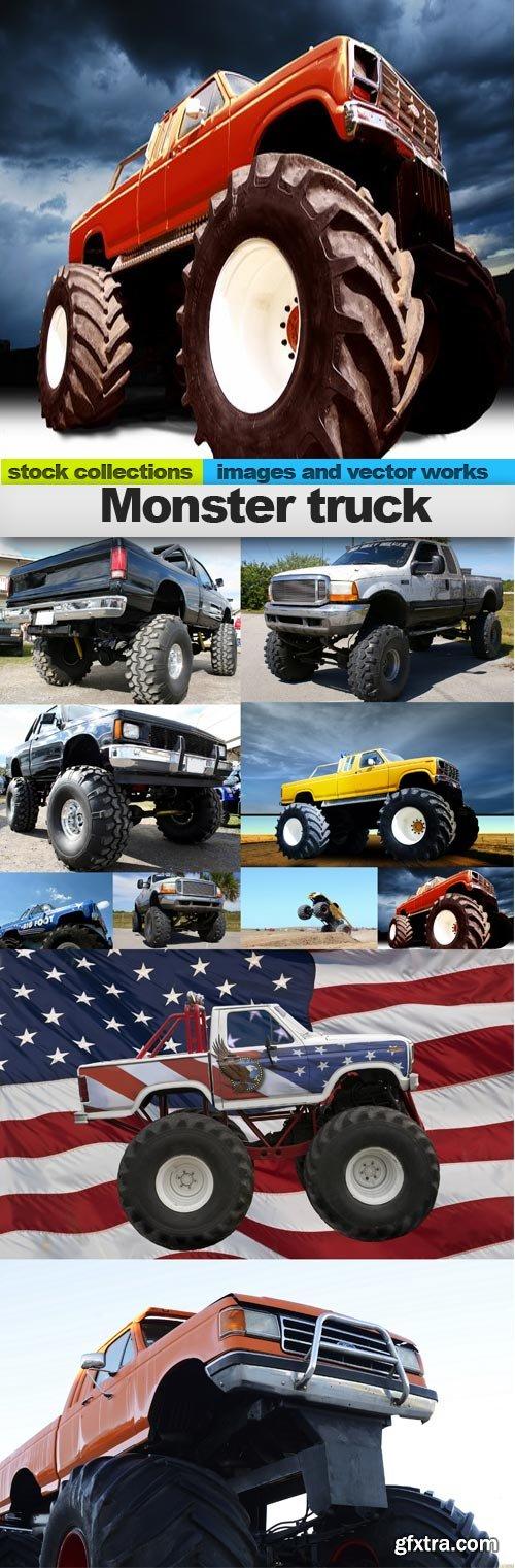 Monster truck, 10 x UHQ JPEG