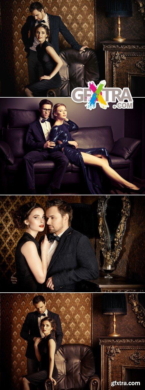 Stock Photo - Stylish Couples