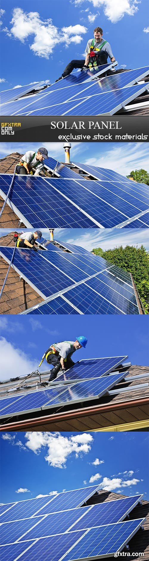 Solar Panel - 5 UHQ JPEG