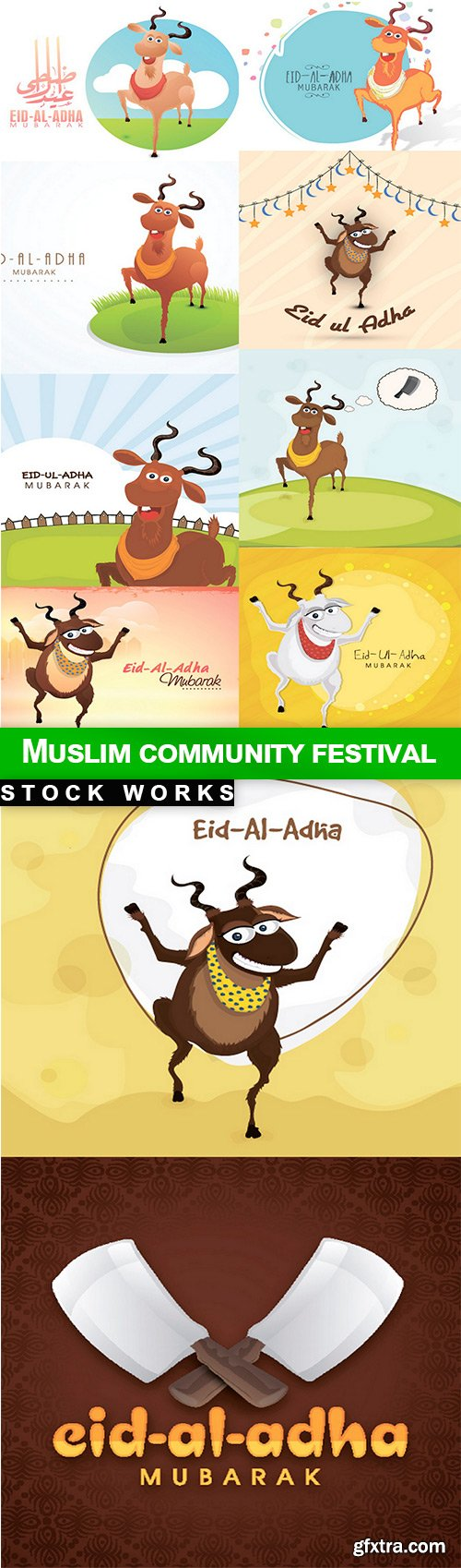 Muslim community festival - 10 EPS