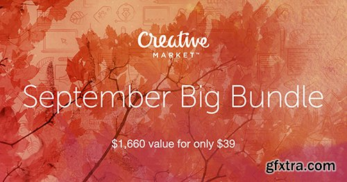 CreativeMarket September Big Bundle
