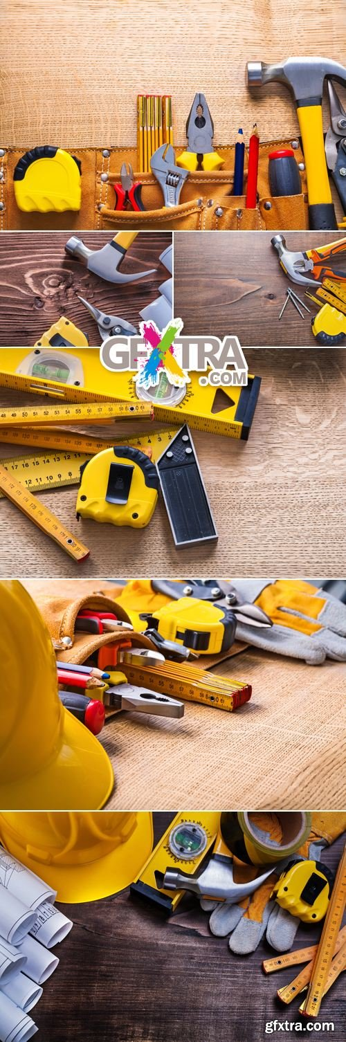 Stock Photo - Construction Tools