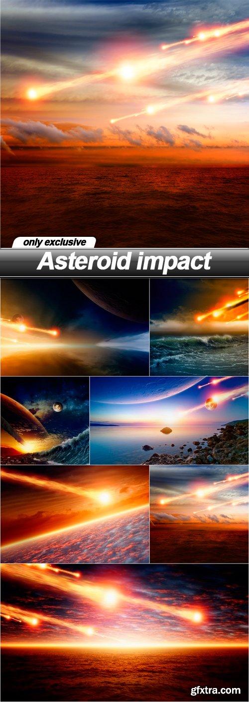 Asteroid impact - 7 UHQ JPEG