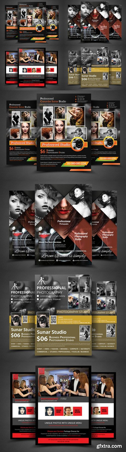 CM - Photography Business Flyer Bundle 374404