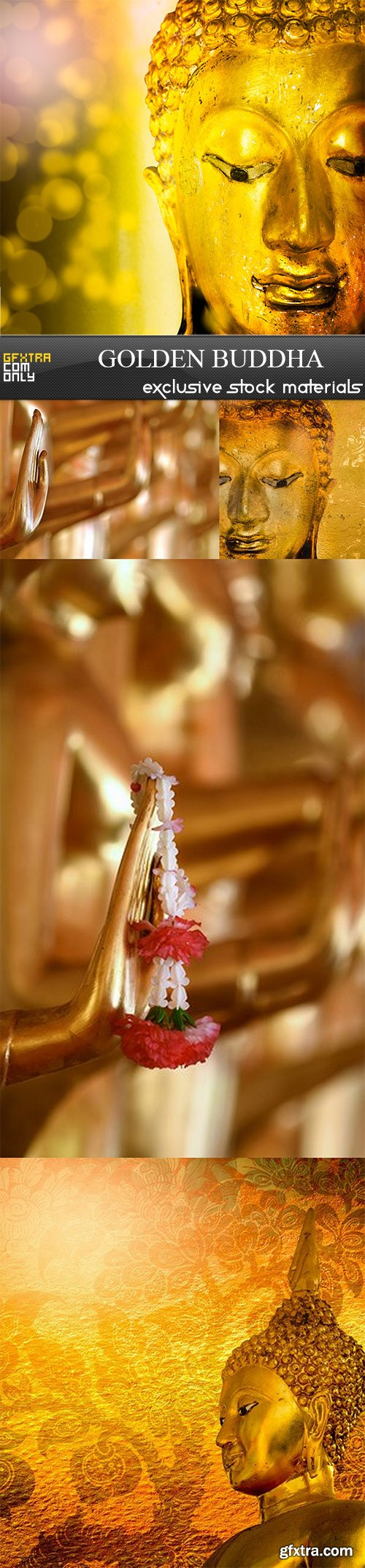Golden Buddha - 5 UHQ JPEG