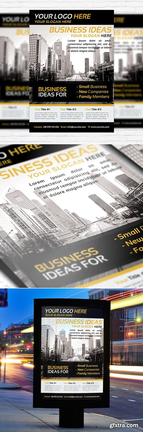 BUSINESS CORPORATE – BUSINESS FLYER TEMPLATE