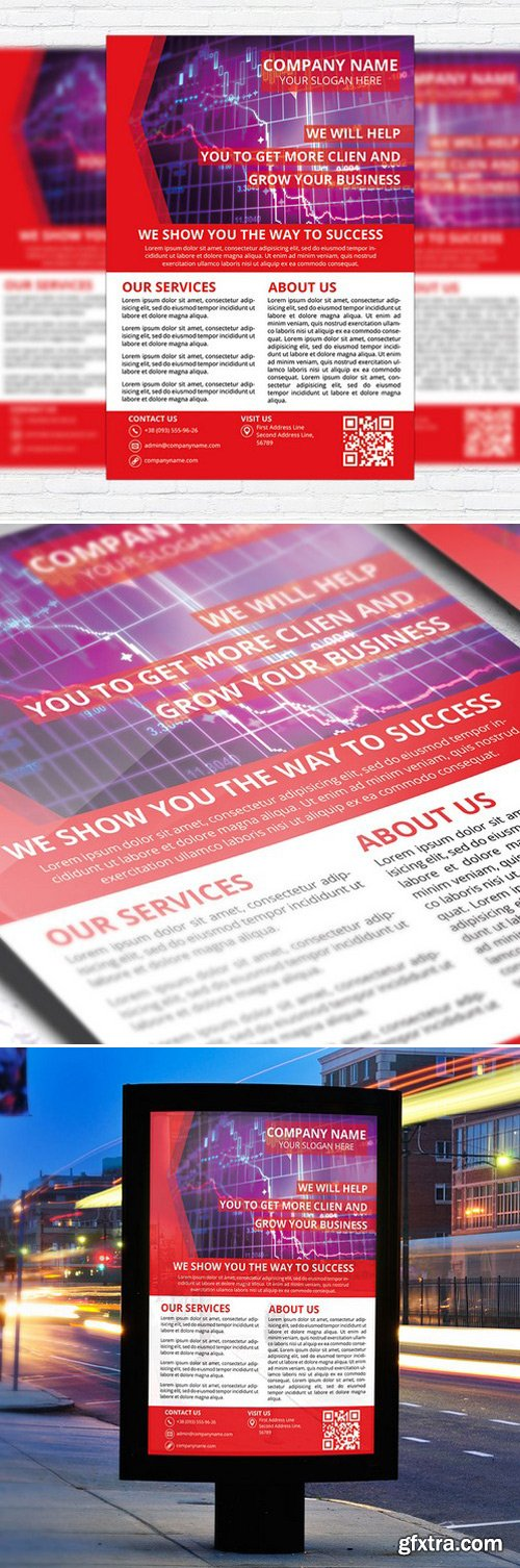 CORPORATE SERVICES – BUSINESS FLYER TEMPLATE