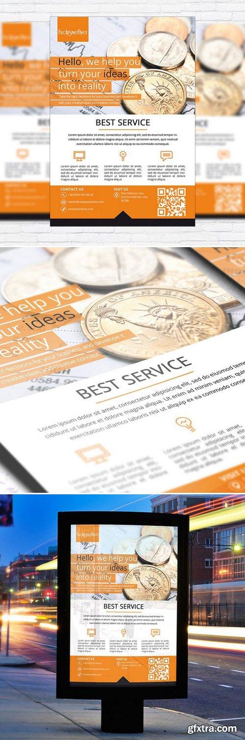 CORPORATE BEST SERVICE – BUSINESS FLYER TEMPLATE