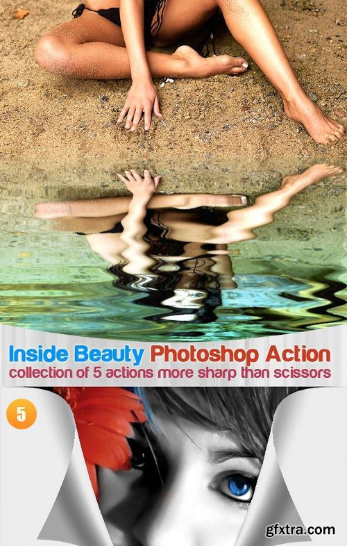 Graphicriver Only The Best Photoshop Action 5 In 1 Bundle 2644852