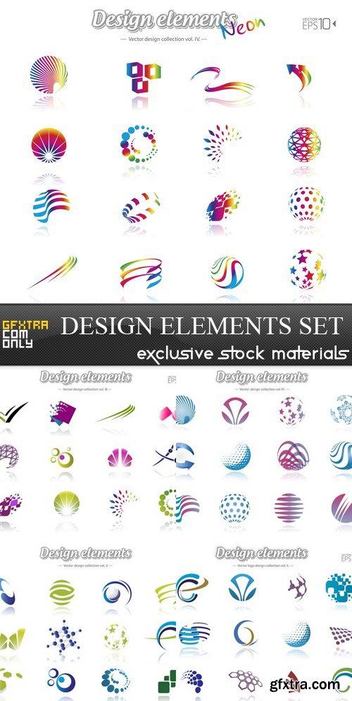 Design Elements - 5xEPS