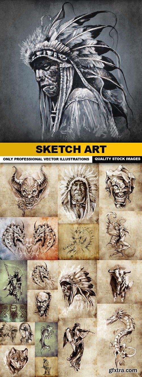 Sketch Art - 19 HQ Images