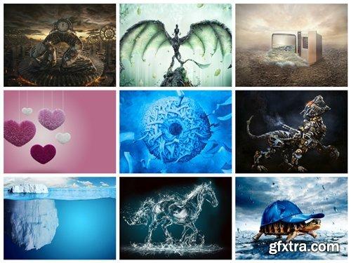 75 Creative Art HD Wallpapers Mix 4