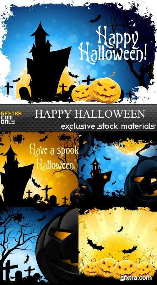 Happy Halloween - 5 UHQ JPEG