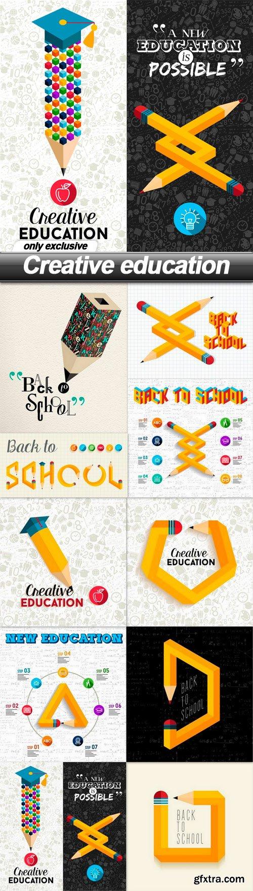 Creative education - 10 EPS