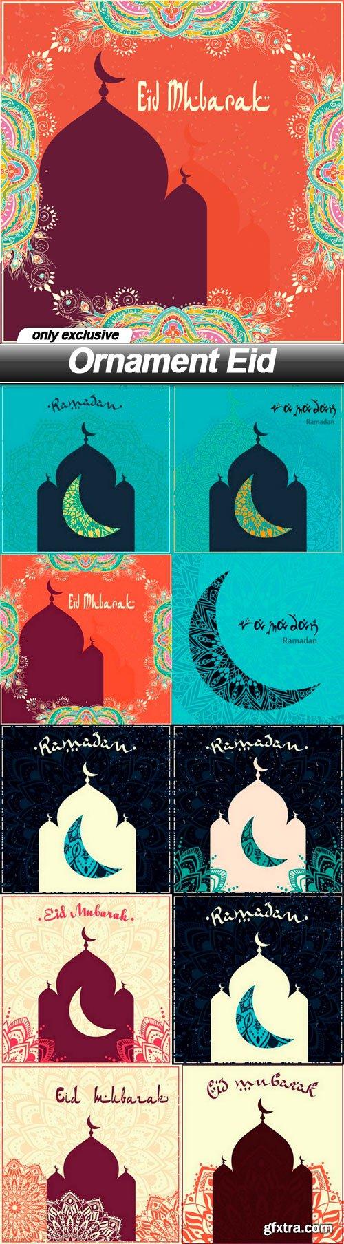 Ornament Eid - 10 EPS