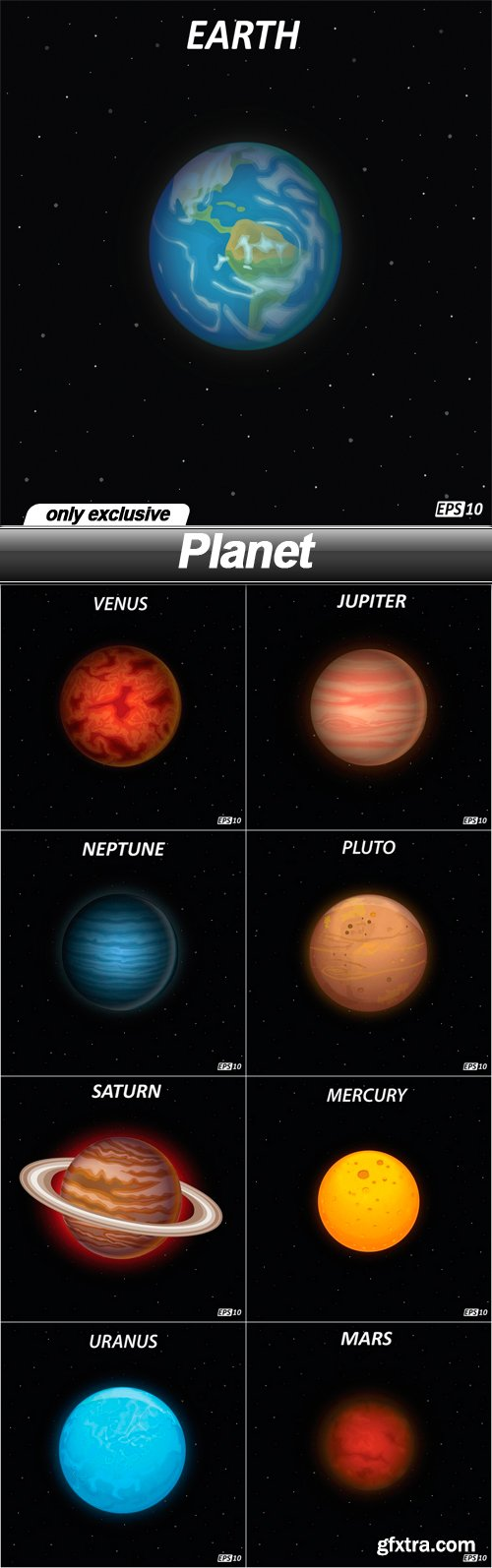 Planet - 9 EPS