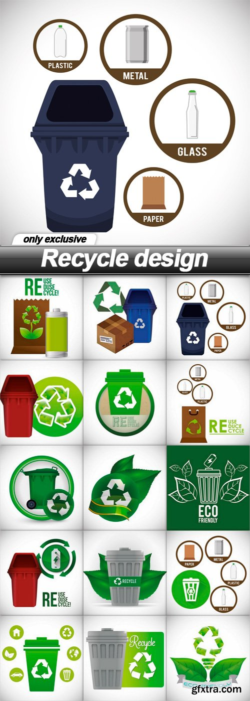 Recycle design - 15 EPS
