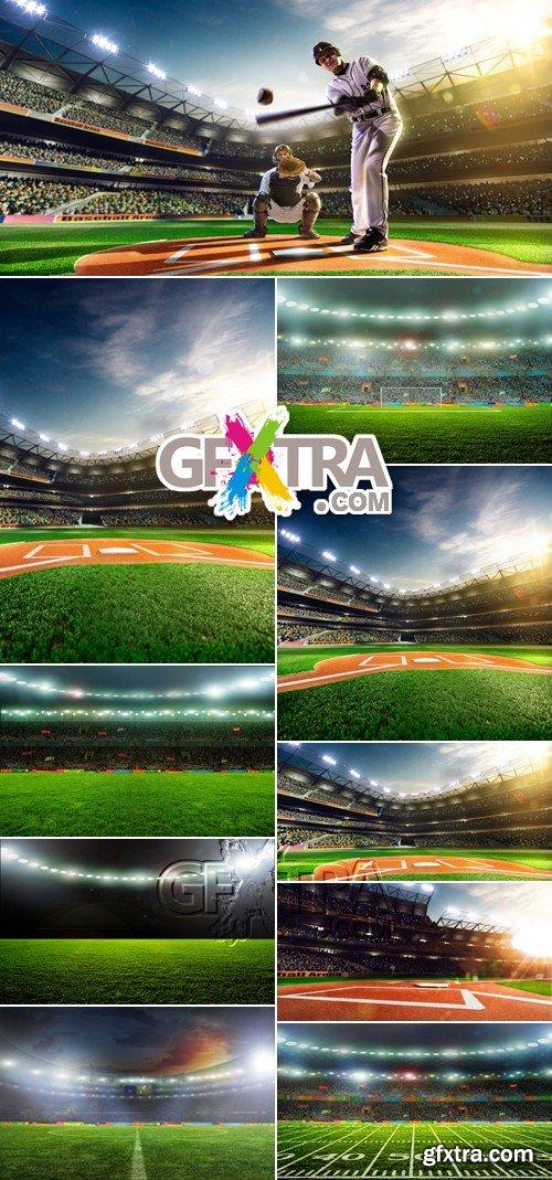 Stock Photo - Baseball