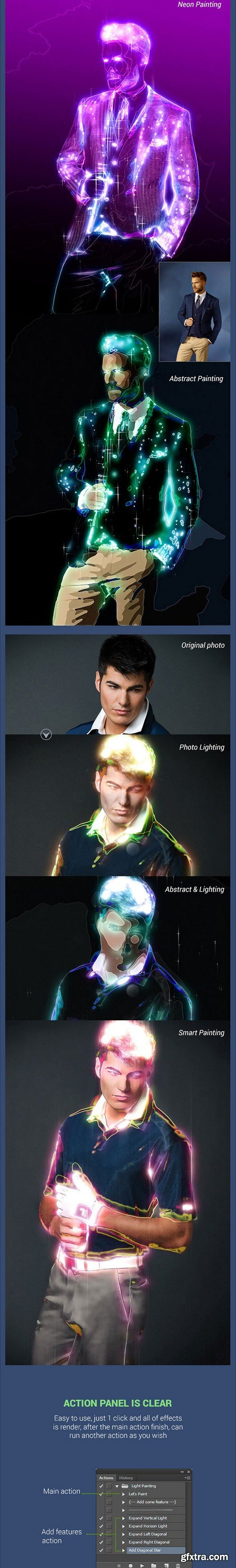 Graphicriver - 12849849 Light Painting